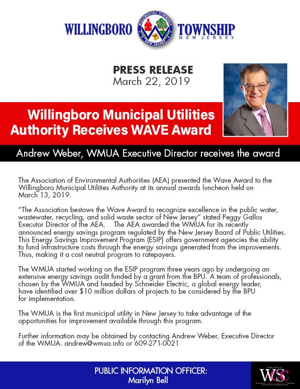WMUA Receives WAVE Award